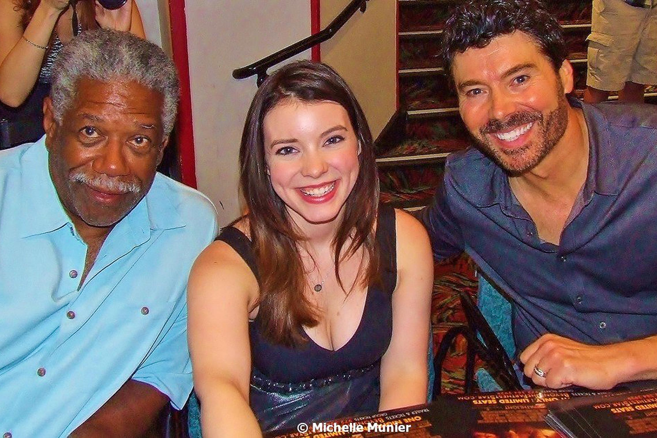 <em>Beyond The Farthest Star<em> cast signings in Burbank with Lou Beatty Jr. and Cherami Leigh.