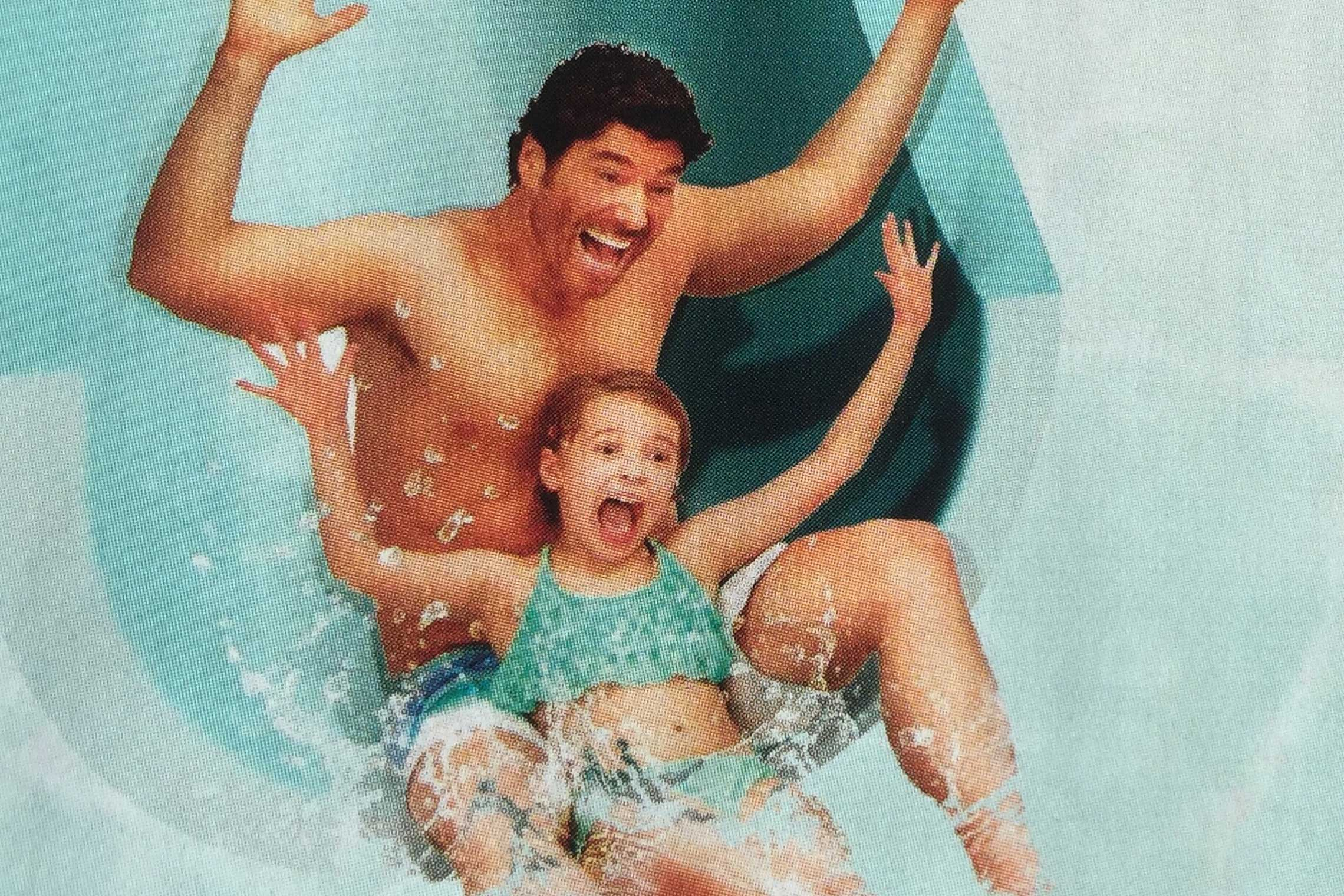 Benjamin in the new ad campaign for JadeWaters at the Anatole Dallas.
